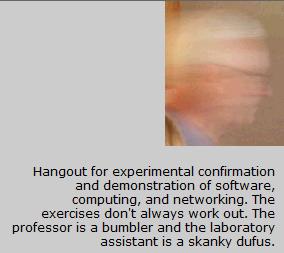 Professor von Clueless in the BlunderDome