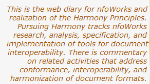 nfoWorks: Pursuing Harmony